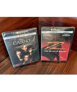 Casino + The Mask of Zorro (4K+Blu-ray+Digital) NEW (Sealed)-Free S&H w/... - $43.65