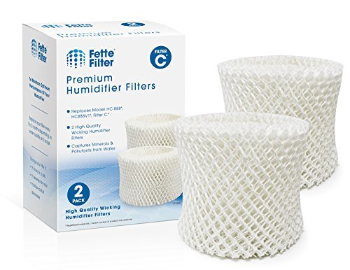 Fette Filter - Humidifier Wicking Filters Compatible with Honeywell HC-888, HC-8