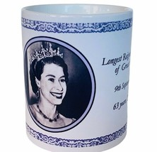 Queen Elizabeth II Coffee Mug Cup Her Majesty Monarch Great Britain long... - $24.14