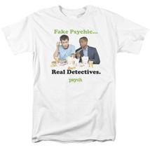 Fake Psychics Real Detectives T-shirt Psych TV series graphic tee NBC912 image 1