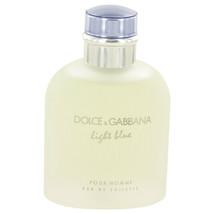 Light Blue Cologne By  DOLCE & GABBANA  FOR MEN 4.2 oz Eau De Toilette S... - $42.52