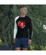 OJJA White Belt Men's Rash Guard - $47.00