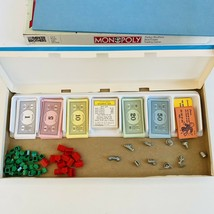 Vintage No.0009 Classic Parker Brothers Monopoly Board Game - £10.05 GBP