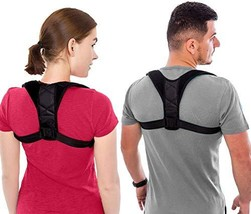 Unisex Back Brace Posture Corrector for Men and Women, Adjustable Back Straighte