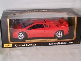 1995 Lamborghini Jota 1:18 scale diecast Special Edition Maisto - $42.37