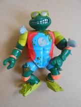 Teenage Mutant Ninja Turtles TMNT 1990 Sewer Surfin Michelangelo Action ... - $9.99