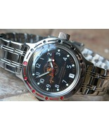 Russian Mechanical Automatic Wrist Watch VOSTOK AMPHIBIAN DIVER 420380 - $72.52