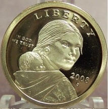 2008-S Proof Sacagawea Dollar DCAM PF65 #0335 - $4.79