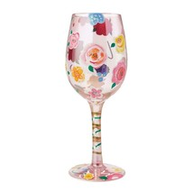 """Love """"Designs by Lolita"""" Wine Glass 15 o.z. 9""""  Gift Boxed image 2"""