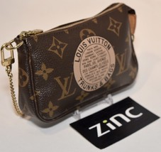 Louis Vuitton Damier Trunks & Baggage Mini Pochette, wristlet, shoulder bag - $549.99