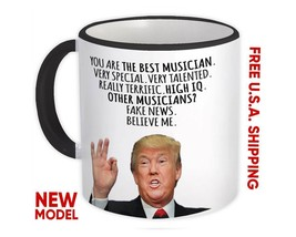 MUSICIAN Gift Funny Trump : Mug Best Birthday Christmas Humor Maga Profe... - $13.37+
