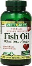 Nature's Bounty Fish Oil 1400 Mg 130 Softgels - $43.99