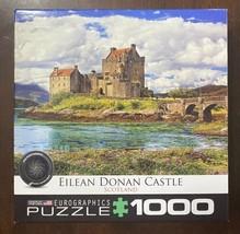 """EuroGraphics Eilean Donan Castle, Scotland 1000 Piece Puzzle 19.25""""x26.625"""" - $18.76"""