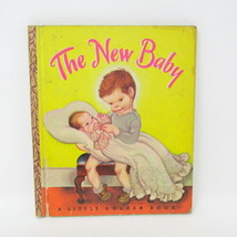 The New Baby A Little Golden Book Vintage 1948 41 A 1st Edition Collecti... - $30.60