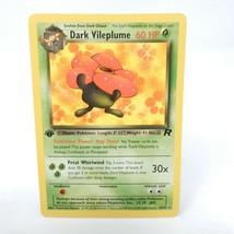 Dark Vileplume 30/82 1st Edition LPt Team Rocket Non-Holo Pokemon Card - $24.70