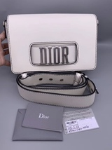 100% Authentic Christian Dior 2018 DIOR CLUTCH STRAP SHOULDER BAG SHW RARE - $2,999.99