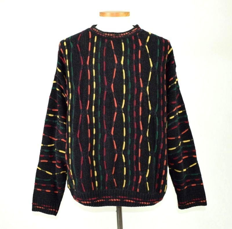 f775686754 Vintage 90s Coogie Style Textured Knit and 39 similar items. S l1600