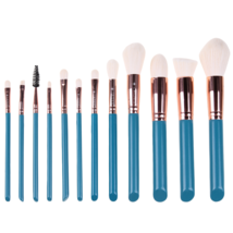12pcs Pro Makeup Brush Set Kit Foundation Powder  Cosmetic Beauty Salon ... - $393,17 MXN