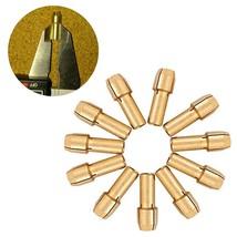 4mm Shank Diameter 11pcs Brass Drill Chucks Collet Bits 0.5 3.2mm for Dremel Rot - $1.40