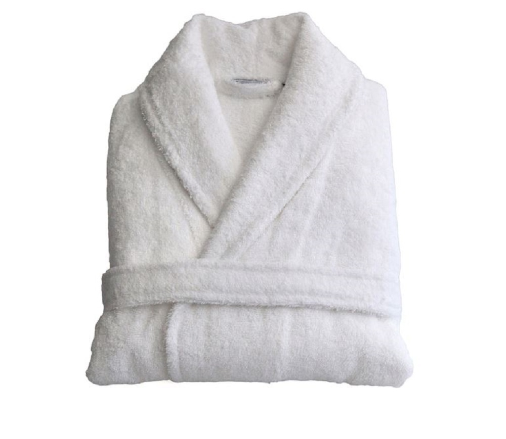 Turkish Cotton Robe Bathrobe Terry Cloth Hotel Spa Bath Medium Men Womens Shower