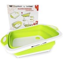 Collapsible Dish Tub | Cutting Board | Chopping Slicing | Washing Bowl W... - £12.04 GBP