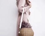 Id big bag natural rattan mamachari bag handwoven rattan beach big straw bag multi thumb155 crop