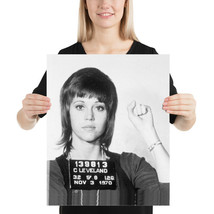 Jane Fonda Mugshot Woman Women Female Poster - $10.89+