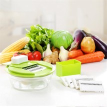 Vegetable Slicer Set Grater Fruit Chopper Cutting Multifunctional Kitche... - €24,32 EUR