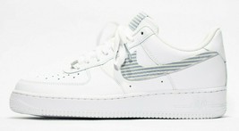 nike air force 1 white custom 'Sear Suckers' available in all sizes - $210.00