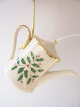 Lenox Holiday Coffee Pot Christmas Tree Ornament - $36.00