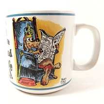 House Maintained Dog Comfort Coffee Mug Cup Vintage 10oz Parody Graphics... - $10.99