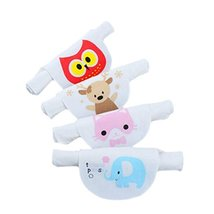 4PCS Cotton Baby Sweat Absorbent Towel 6 Layers Sweat Wicking Pads Bibs ... - $17.83