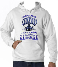 Viking Sagas - New Cotton White Hoodie - $38.71