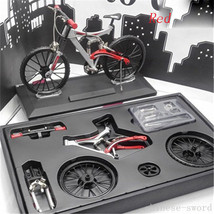 1/6 model, mountain bike, bicycle, 80 parts assembly, alloy material, 6 ... - $49.49