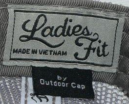 OC Sports Ladies Fit Outdoor Cap Royal Purple Dark Grey FWT130L image 8