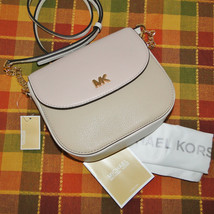 Michael Kors Half Dome Leather Crossbody