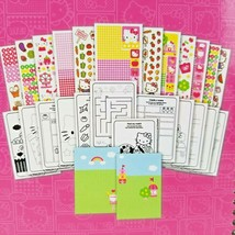 Hello Kitty 2000+ Stickers Set Travel Book 24 pages Maze Tic-Tac-Toe Match Up 3+ - $9.99