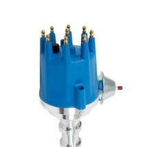 Ford Y-Block V8 Pro Series Distributor Ready to Run BLUE image 2