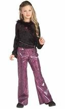 Pop Star Divas Rock Star Diva Child Halloween Costume Girls Size Small 4-6 - $15.69