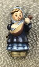Goebel Berta Hummel Girl With Lute Nativity Ornament #935091 - $11.88