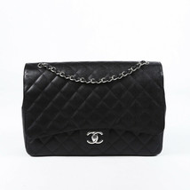 Chanel Quilted Caviar Maxi Classic Double Flap Bag - $5,005.00