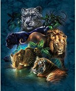 Big Cat Prowess 1000 pc Jigsaw Puzzle - $12.50
