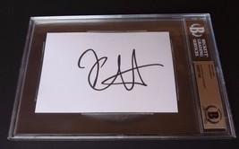 Kirk Hammett Metallica Signed Autograph 4X6 Index Card Beckett Certified... - $129.99