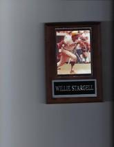 WILLIE STARGELL PLAQUE BASEBALL PITTSBURGH PIRATES MLB - $2.56