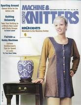 Machine Knitters Source Sept Oct 2000 Magazine Kruh Knits Vtg Patterns A... - $5.93