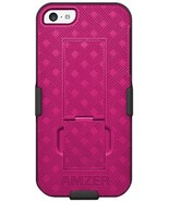 Amzer Shellster with Kickstand for iPhone 5C - Pink - $4.94