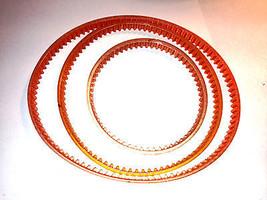 Nuovo 3 con Cintura Ricambio Set Centrale Macchinario Mini Tornio Macinino - $19.58