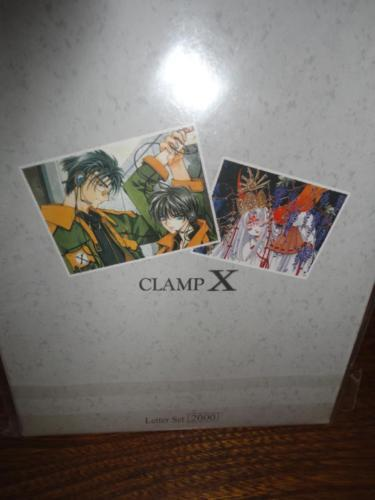 Japanese Manga CLAMP X Memo Pad & Letter Set 1990's - 2000 NEW