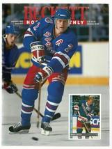 Beckett Hockey Monthly  BRIAN LEETCH    #27  JANUARY 1993  EX++++ - $17.87