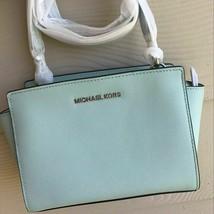 NWT Michael Kors SELMA Medium Leather Messenger  - $145.95
